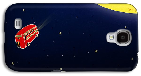 Orbit Galaxy S4 Cases - To the moon Galaxy S4 Case by Yoyo Zhao