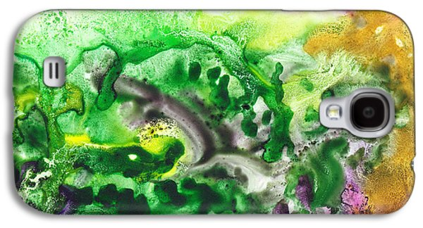 Mystic Paintings Galaxy S4 Cases - To The Unknown Abstract Path Number Six Galaxy S4 Case by Irina Sztukowski