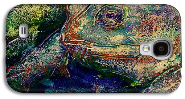 Flies Mixed Media Galaxy S4 Cases - Toad You So Galaxy S4 Case by D Renee Wilson