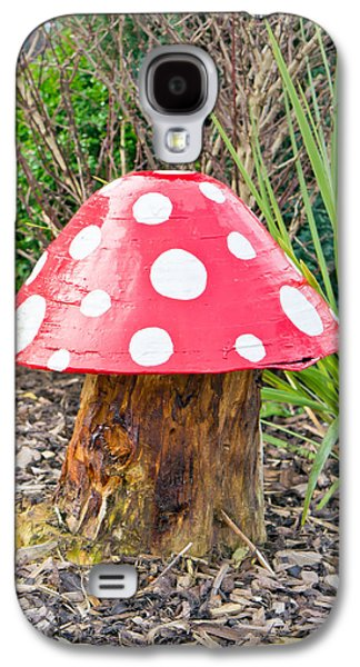Toadstools Galaxy S4 Cases - Toadstool Galaxy S4 Case by Tom Gowanlock