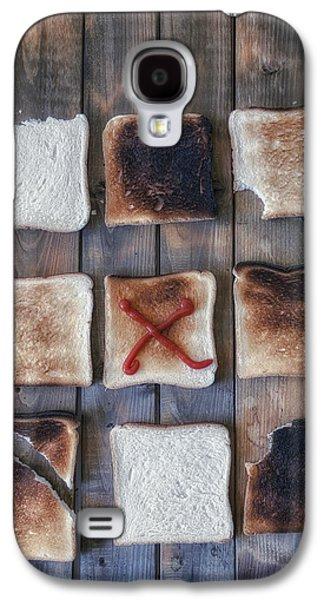Biting Galaxy S4 Cases - Toast Galaxy S4 Case by Joana Kruse