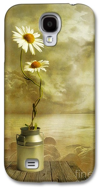 Floral Digital Art Galaxy S4 Cases - Together Galaxy S4 Case by Veikko Suikkanen