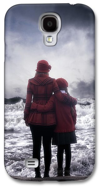Girl Galaxy S4 Cases - Together We Are Strong Galaxy S4 Case by Joana Kruse
