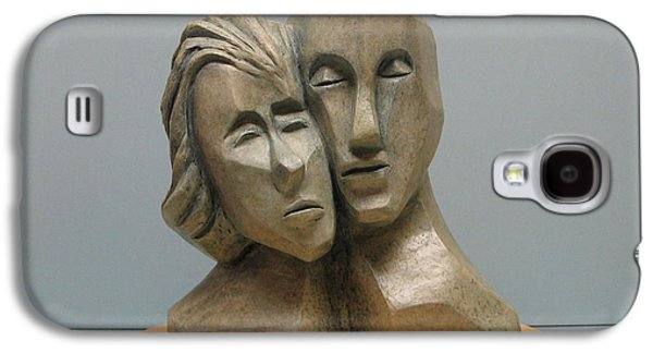 Person Sculptures Galaxy S4 Cases - Togetherness. Galaxy S4 Case by Nili Tochner