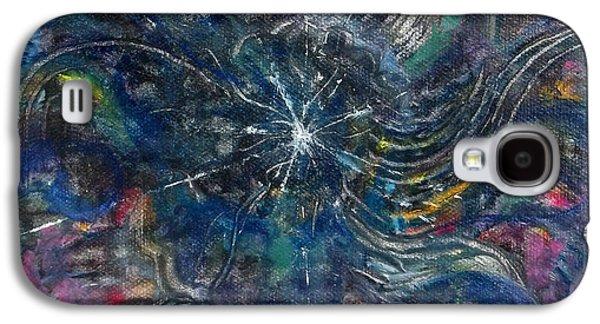 The Void Galaxy S4 Cases - Tohu va vohu Galaxy S4 Case by Anne Cameron Cutri