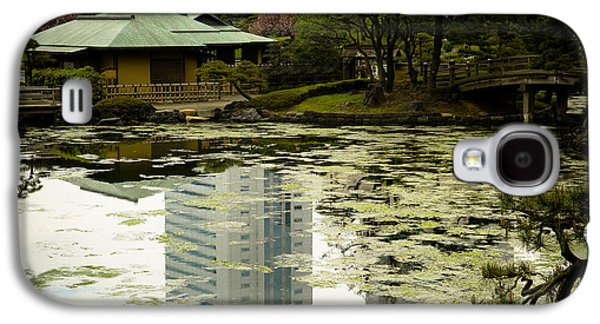 Island Galaxy S4 Cases - Tokyo Reflection Galaxy S4 Case by Sebastian Musial