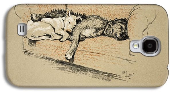 Black Dog Galaxy S4 Cases - Toleration, 1930, 1st Edition Galaxy S4 Case by Cecil Charles Windsor Aldin