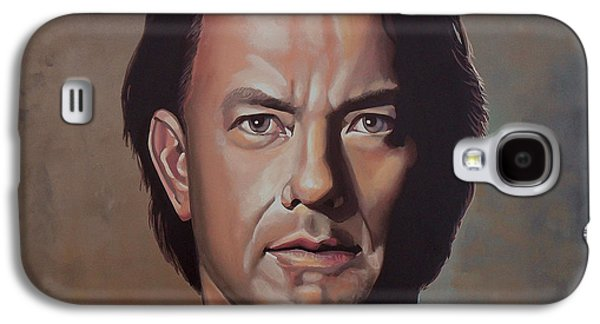 Private Galaxy S4 Cases - Tom Hanks Galaxy S4 Case by Paul Meijering