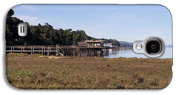 Contemplative Photographs Galaxy S4 Cases - Tomales Bay At Inverness Point Reyes California DSC2068 Galaxy S4 Case by Wingsdomain Art and Photography