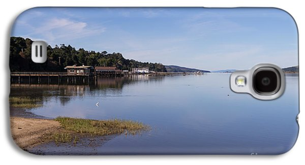 Contemplative Photographs Galaxy S4 Cases - Tomales Bay At Inverness Point Reyes California DSC2138 Galaxy S4 Case by Wingsdomain Art and Photography