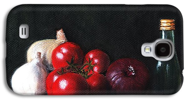Anastasiya Malakhova Galaxy S4 Cases - Tomatoes and Onions Galaxy S4 Case by Anastasiya Malakhova