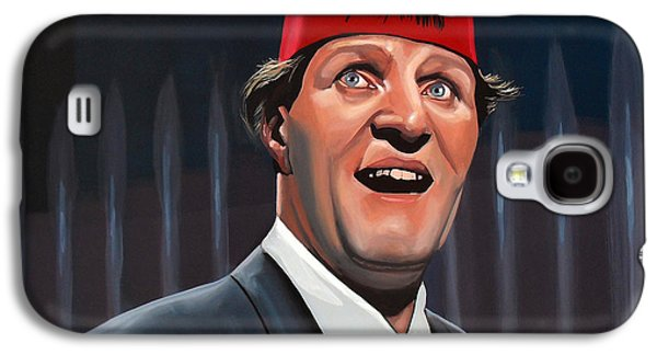 British Celebrities Galaxy S4 Cases - Tommy Cooper  Galaxy S4 Case by Paul Meijering