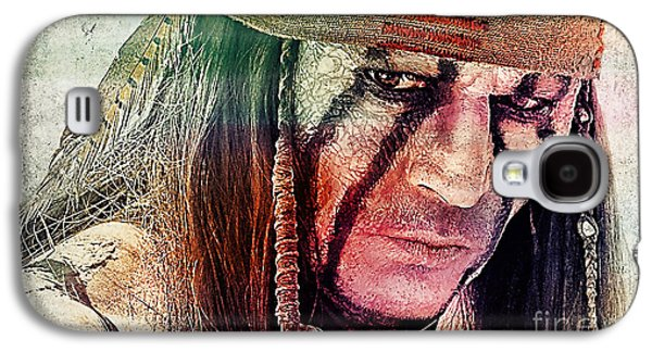 Tonto Painting Galaxy S4 Case by Marvin Blaine