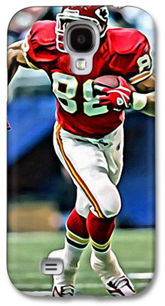 Nfl Galaxy S4 Cases - Tony Gonzalez Galaxy S4 Case by Florian Rodarte