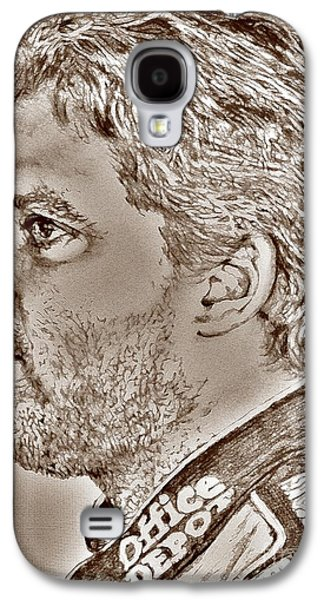 Owner Mixed Media Galaxy S4 Cases - Tony Stewart in 2011 Galaxy S4 Case by J McCombie