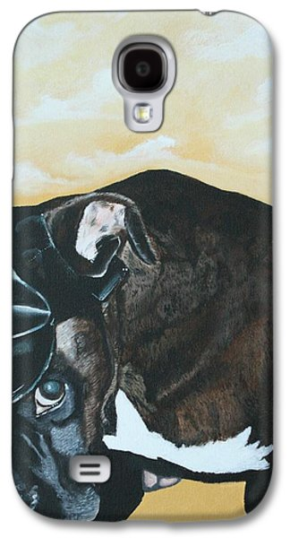 Boxer Galaxy S4 Cases - Too Sexy For This Hat Galaxy S4 Case by Ambre Wallitsch