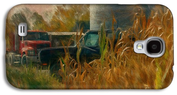 Farm Truck Galaxy S4 Cases - Tools Of The Trade Galaxy S4 Case by Lois Bryan