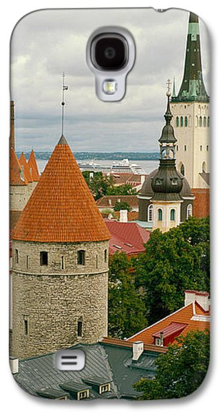 Tallinn Galaxy S4 Cases - Toompea View, Old Town, Tallinn, Estonia Galaxy S4 Case by Panoramic Images