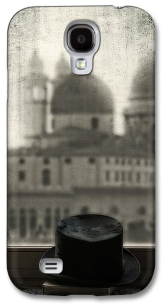 Black Top Galaxy S4 Cases - Top Hat Galaxy S4 Case by Joana Kruse