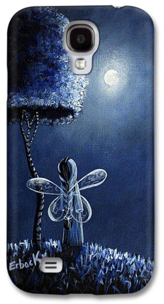 Dreamscape Galaxy S4 Cases - Topaz Fairy Original Artwork Galaxy S4 Case by Shawna Erback