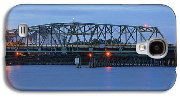 Topsail Galaxy S4 Cases - Topsail Island Bridge Galaxy S4 Case by Mike McGlothlen