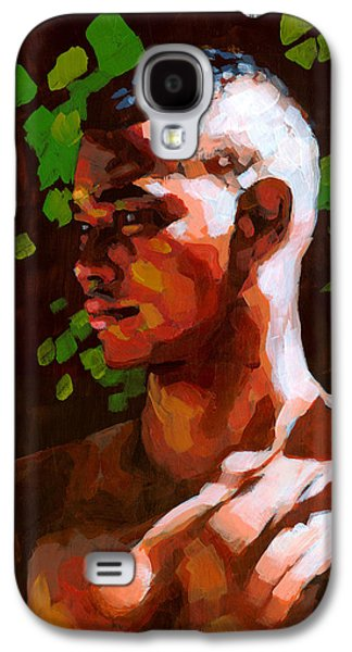 African-american Galaxy S4 Cases - Torano in the Afternoon Galaxy S4 Case by Douglas Simonson