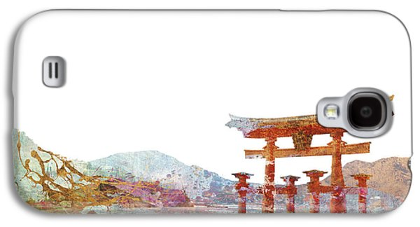 Torii Gate Colorsplash Galaxy S4 Case by Aimee Stewart