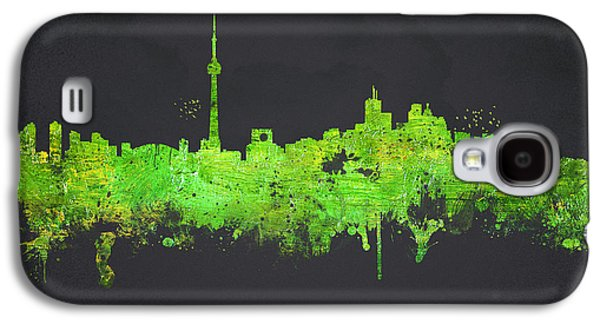 Architecture Mixed Media Galaxy S4 Cases - Toronto Canada Galaxy S4 Case by Aged Pixel