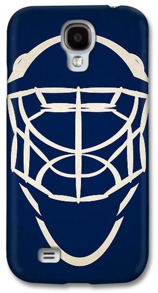 Toronto Maple Leafs Goalie Mask Galaxy S4 Case by Joe Hamilton