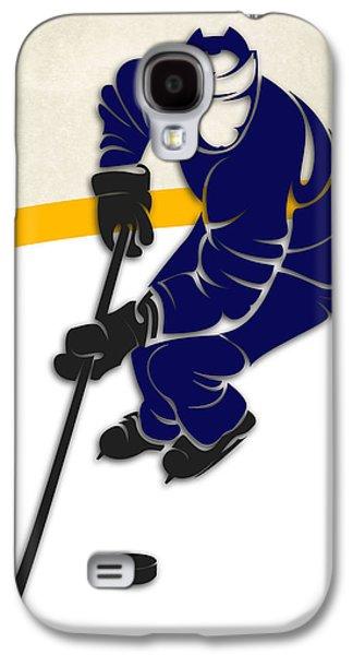 Toronto Maple Leafs Rink Galaxy S4 Case by Joe Hamilton