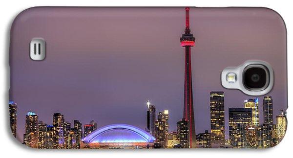 Toronto Galaxy S4 Cases - Toronto Skyline Galaxy S4 Case by Shawn Everhart