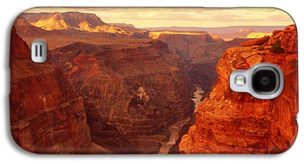 Grand Canyon Photographs Galaxy S4 Cases - Toroweap Point, Grand Canyon, Arizona Galaxy S4 Case by Panoramic Images