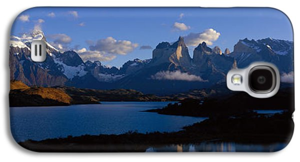Snow Capped Galaxy S4 Cases - Torres Del Paine, Patagonia, Chile Galaxy S4 Case by Panoramic Images