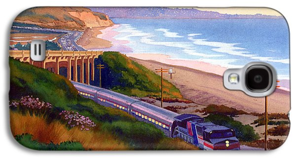 California Beach Galaxy S4 Cases - Torrey Pines Commute Galaxy S4 Case by Mary Helmreich