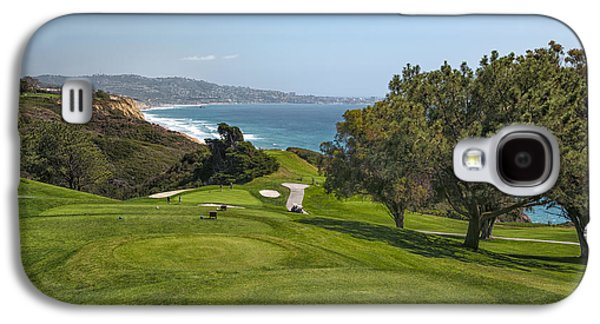 Sports Photographs Galaxy S4 Cases - Torrey Pines Golf Course North 6th Hole Galaxy S4 Case by Adam Romanowicz