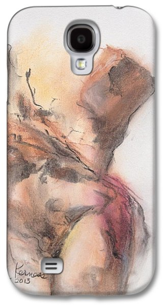 Nature Study Pastels Galaxy S4 Cases - Torso Galaxy S4 Case by Donna Kerness