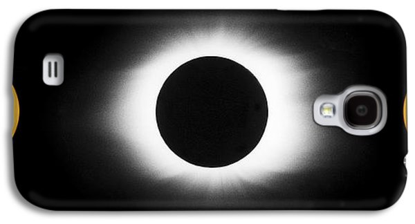 Solar Eclipse Galaxy S4 Cases - Total Solar Eclipse Sequence Galaxy S4 Case by John Chumack