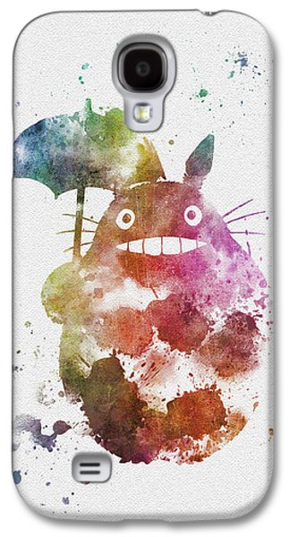 Animation Galaxy S4 Cases - Totoro Galaxy S4 Case by Rebecca Jenkins