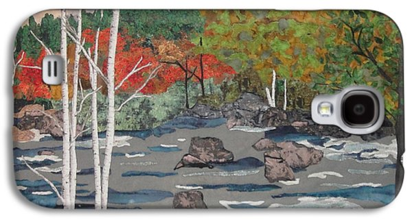 Autumn Landscape Tapestries - Textiles Galaxy S4 Cases - Touch of Autumn Galaxy S4 Case by Anita Jacques
