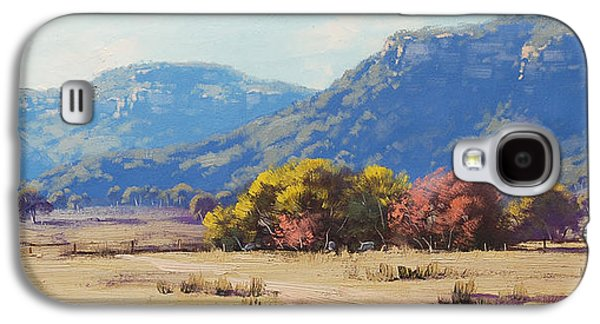 Shed Paintings Galaxy S4 Cases - Touch of Autumn  Galaxy S4 Case by Graham Gercken