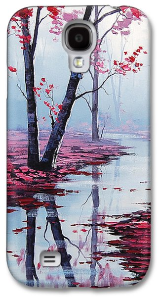 Salmon Paintings Galaxy S4 Cases - Touch of Heaven Galaxy S4 Case by Graham Gercken