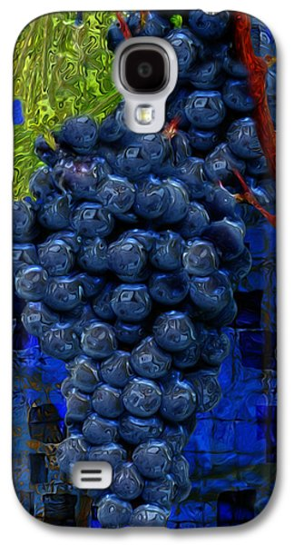 Vinegar Galaxy S4 Cases - Touch Of The Grape Galaxy S4 Case by Jack Zulli