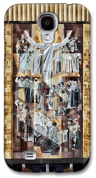 Jesus Photographs Galaxy S4 Cases - Touchdown Jesus Galaxy S4 Case by Mountain Dreams