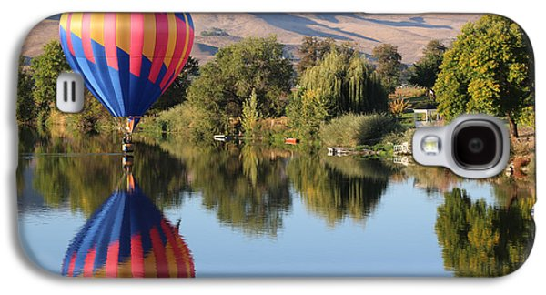Yakima Valley Galaxy S4 Cases - Touchdown on the Yakima River Galaxy S4 Case by Carol Groenen