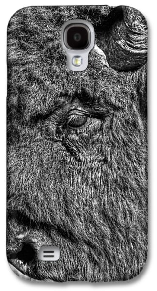 Bison Digital Galaxy S4 Cases - Tough Old Bull in grey Galaxy S4 Case by James Anderson