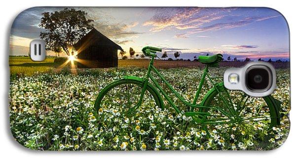 Sun Galaxy S4 Cases - Tour de France Galaxy S4 Case by Debra and Dave Vanderlaan