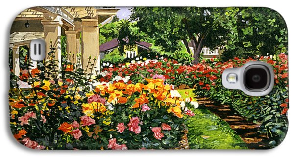 Pathway Paintings Galaxy S4 Cases - Tournament of Roses II Galaxy S4 Case by David Lloyd Glover