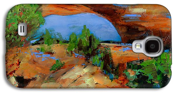 Handmade Galaxy S4 Cases - Toward the Arch  Galaxy S4 Case by Elise Palmigiani
