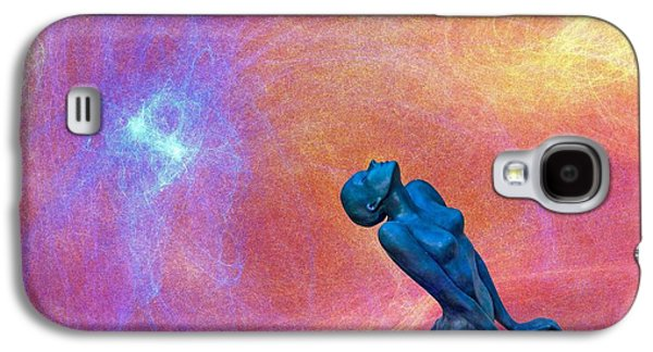 Statue Portrait Galaxy S4 Cases - Towards the sky Galaxy S4 Case by Catherine Arnas