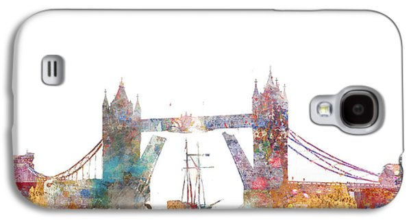 Tower Bridge Colorsplash Galaxy S4 Case by Aimee Stewart